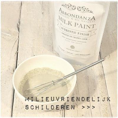 Milieuvriendelijk schilderen, alle ins & outs #milkpaint #milieuvriendelijk #natuurverf