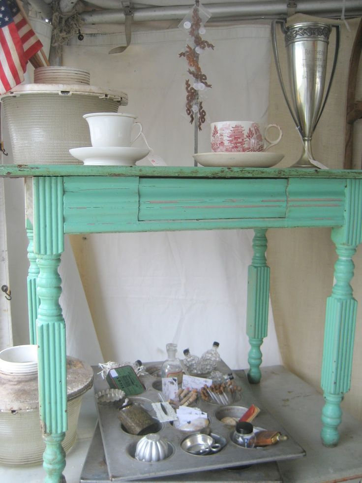 Antique Booth Designs | 52 FLEA: More Photos From Bliss Farm Antiques' Booth at Brimfield
