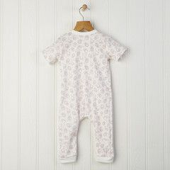 Cotton romper in a mouse, owl and squirrel pattern On sale from £20 to only £16 For babies and toddlers, makes a great gift Free delivery & gift wrap to mainland UK #romper #babygrow