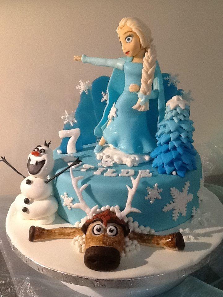 FLOWER CAKE DESIGNER: Bolo Frozen