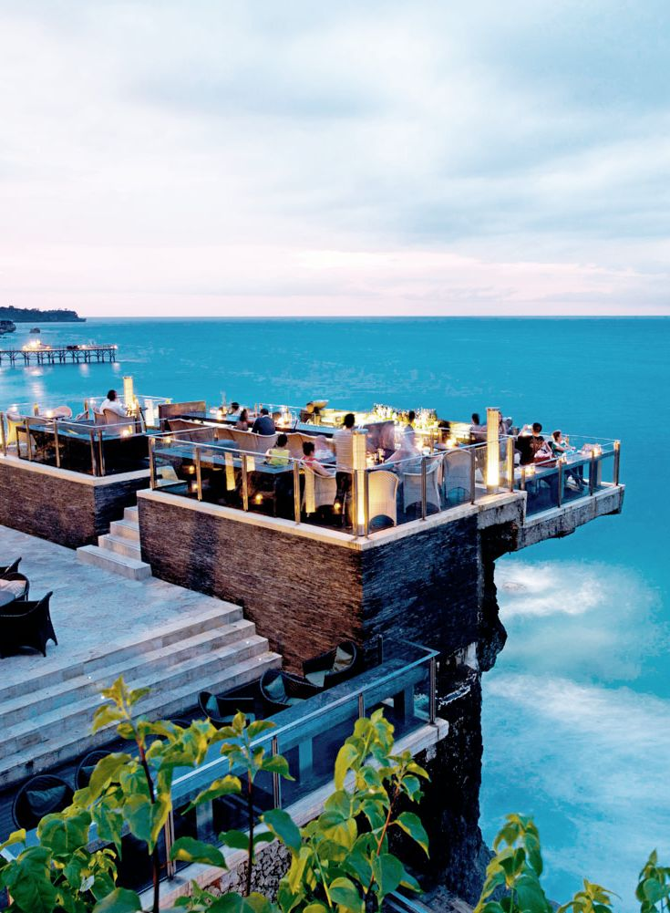 1. Rock Bar Jl. Karang Mas Sejahtera, Ayana Resort, Jimbaran Most probably my favourite spot...