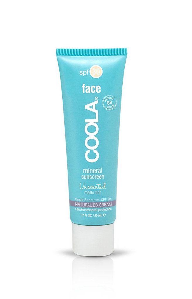 Unscented matte face tint SPF 30 | Coola