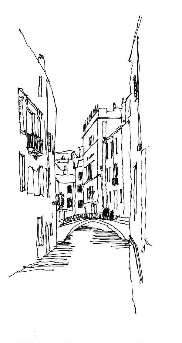 Travel Sketches by Ricardo Agraz, via Behance