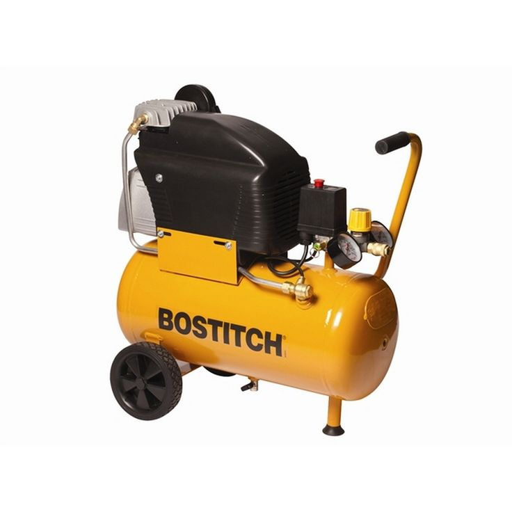 The Bostitch C24 portable compressor offers 40% more air than conventional compressors. Some great features include a powerful 2.5HP motor, a lubricated pump and an adjustable integral air regulator. A top quality and compact design for easy portability between sites. | L031216