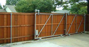 Large Sliding Fence Gates