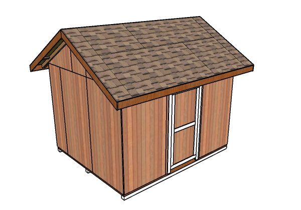 10 12 Gable Shed Roof Plans Diy Shed Plans Shed Plans Small Shed Plans