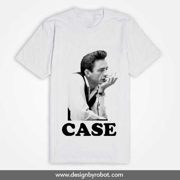 Johnny Cash I Walk The Line T Shirt