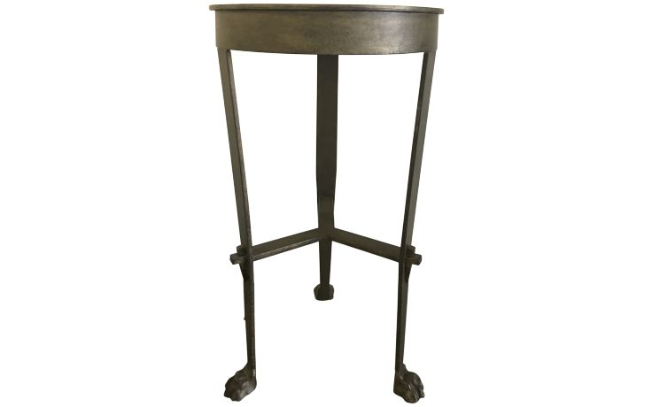 Niermann Weeks Roman Pedestal Side Table Front