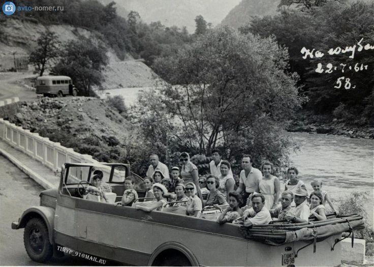 Автобус-кабриолет КАвЗ-651 «Рица» пользовался спросом на юге СССР