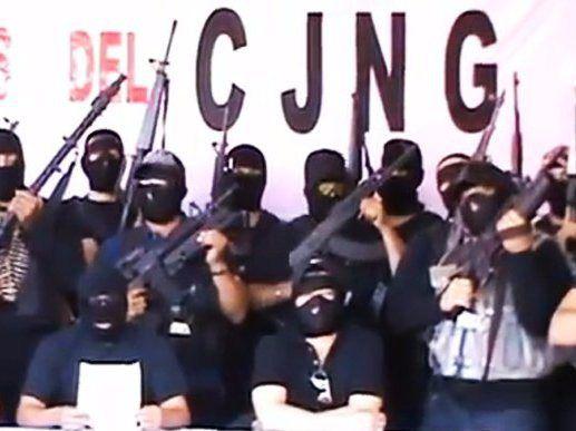 Members of the Jalisco New Generation Drug Cartel