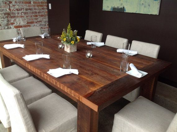 Best Barnwood Dining Table Ideas Only On Pinterest Kitchen