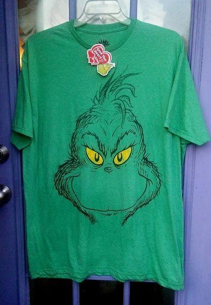 Grinch t-shirt 2X Licensed NWT Christmas Xmas #Hybrid #BasicTee