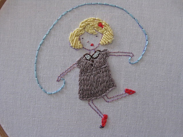 skipping and stitching!!!! by Aneela Hoey, via Flickr