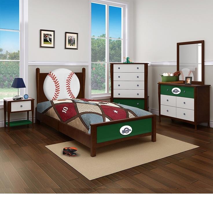 Milwaukee Brewers Bedroom In A Box Major League Baseball