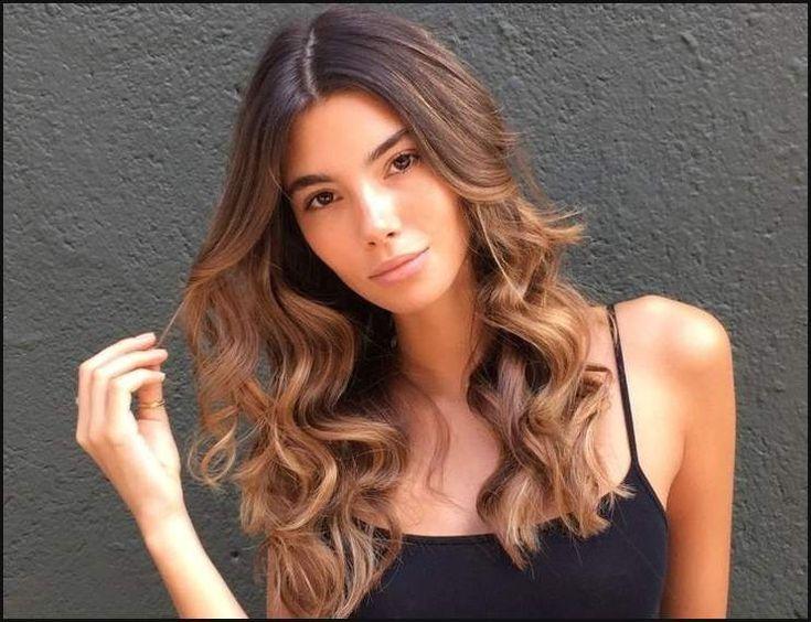 25+ trending Cinnamon hair colors ideas on Pinterest | Caramel ... | Einfache Frisuren