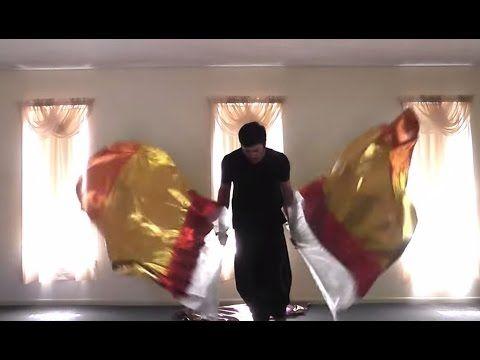 ❥ Worship Flag Dance (Oceans - Hillsong Jeremy James Whitaker Remix) CALLED TO FLAG ft Aj - YouTube