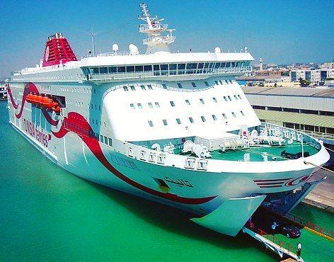Mañana visitaremos el TANIT de CTN en ruta hacia #túnez #truetunisia y probaremos la deliciosa comida tunecina. #igersbarcelona #crucero #barco #mar