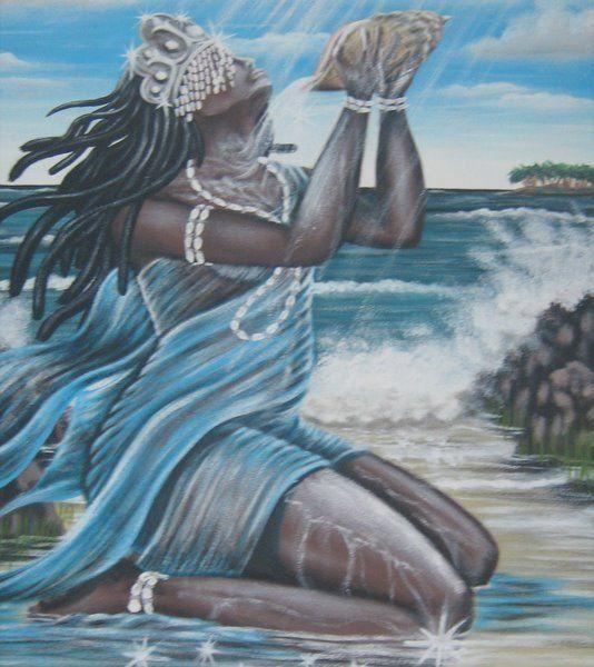 .Orixá mais popular do Brasil, a rainha do mar é a mãe de todos os Orixás, é o trono feminino da geração, a protetora dos marinheiros, pescadores, das viagens pelo mar, e também sobre toda a flora e fauna marinhas. E além disso, atua no amparo à maternidade, rege de forma absoluta o lar e a família. Dona dos mares e oceanos, águas essas que, através de sua força, tem o papel de devolver vibrações e trabalhos, pois creem que o mar devolve tudo que nele for jogado e vibrado.