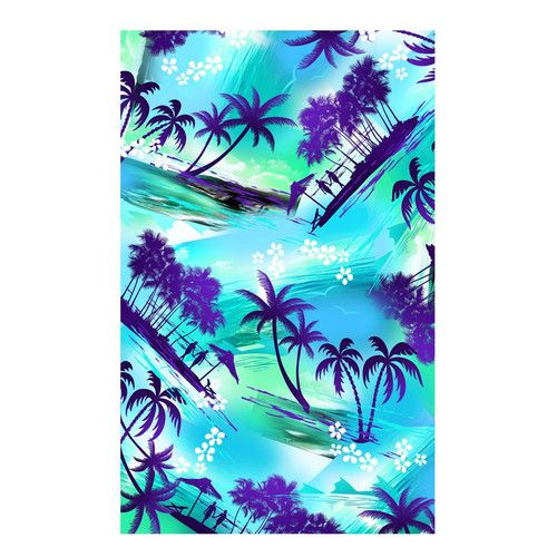 Beach Towel Clearance Sale | Tropical Island Beach Towel