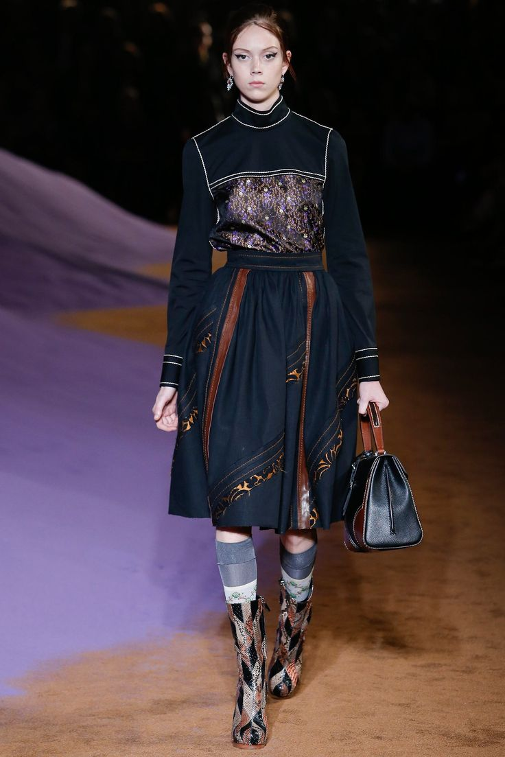 Prada Spring 2015 Ready-to-Wear Fashion Show - Natalie Westling
