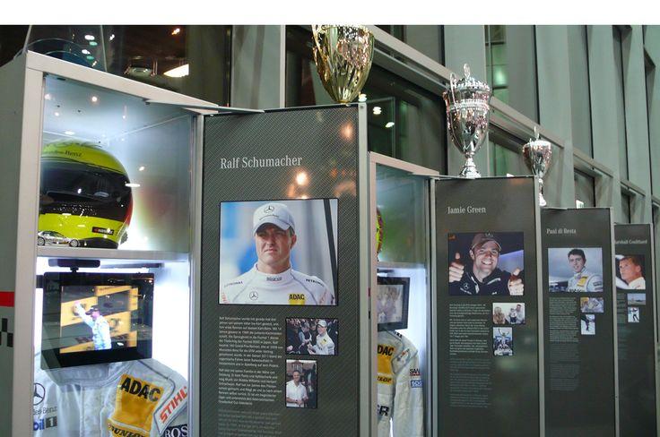 DTM Champions, Wanderausstellung Daimler AG spek Design