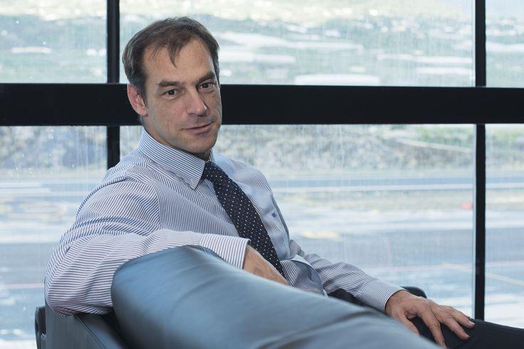 Juan Carlos Peg Ros | Director del Aeropuerto de La Palma.