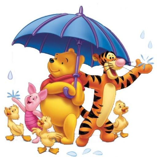 Winnie The Pooh Rain: Winnie The Pooh And Friends