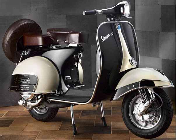 Moto Vespa ¡Espectacular!