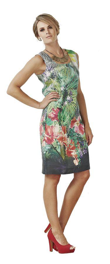 Macjays Cotton Shift Dress, was $299 now $149!  www.sassys.co.nz