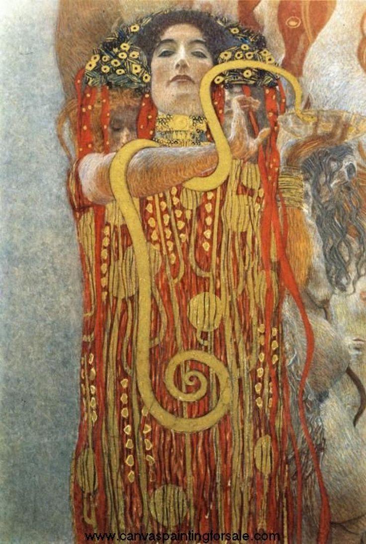 Klimt Hygeia, Art, Posts, Gustav Klimt, Medicine, Hygieia Gustav ...