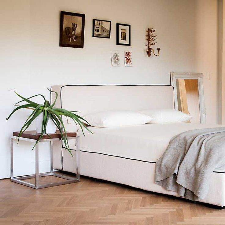 the gardiner solid wood modern bed frame with reviews by gus modern - Bed Frames Modern