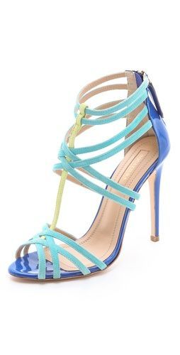 Aquazzura Principessa Suede Sandals