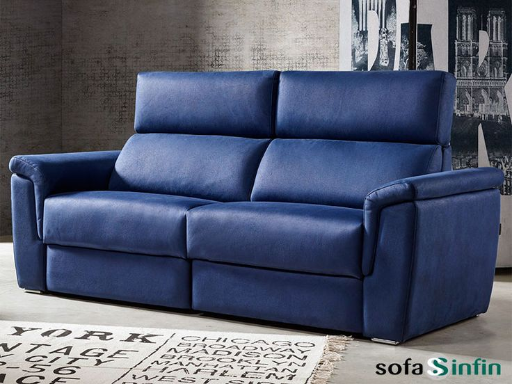 Sofá moderno de 3 y 2 plazas modelo Spacio fabricado por Acomodel en Sofassinfin.es