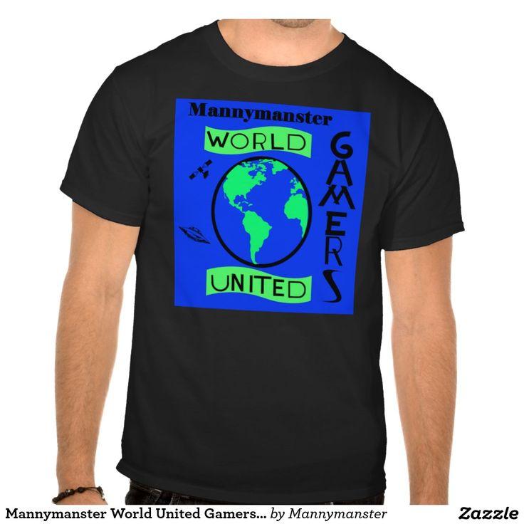 Mannymanster World United Gamers T-shirts