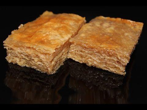 Baklava recept - kako napraviti baklavu sa medom - YouTube