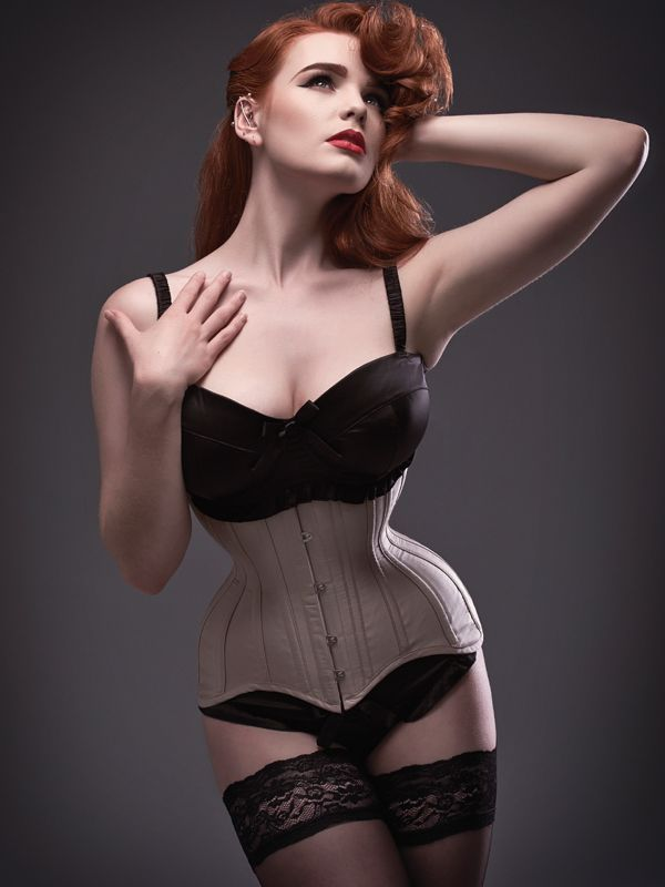 Miss Deadly Red for Valkyrie Corsets
