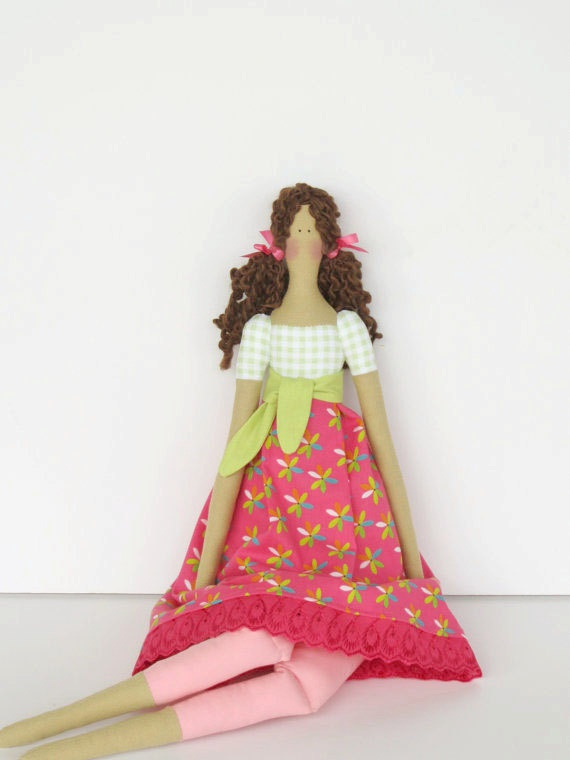 Lovely fabric doll