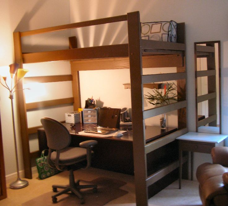 Best 17 Best Images About T**N Bedroom With Loft Bed On 400 x 300