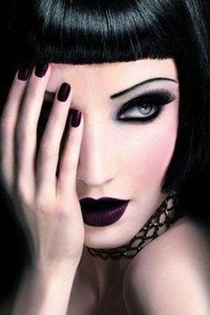 gotik makyaj