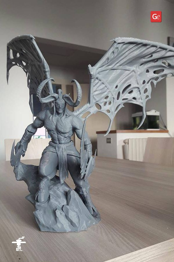 Illidan Stormrage 3d Printing Miniature Assembly In 2020 3d