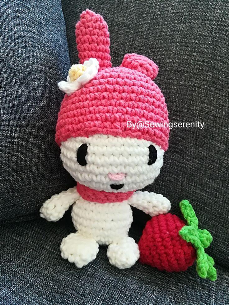 I ❤️ amigurumi My Melody Sanrjo crochet