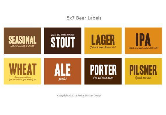 Bierprobe Etiketten – Products