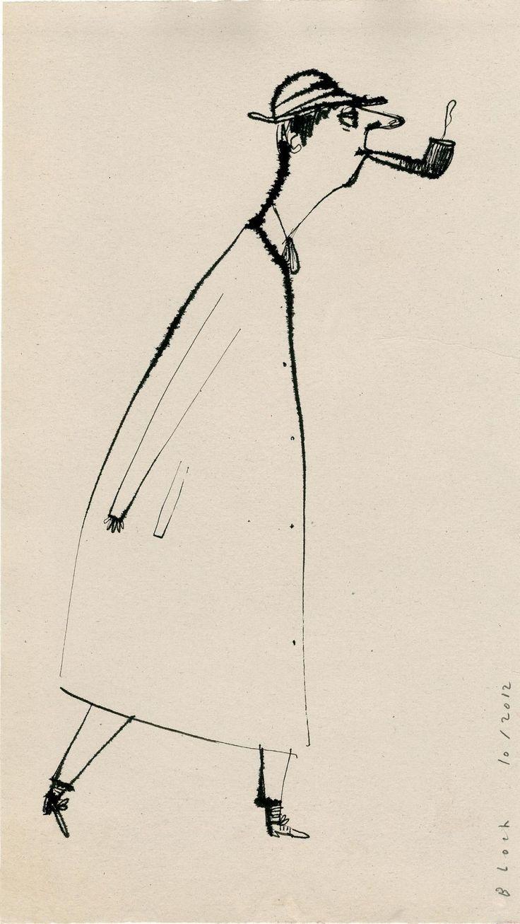 Monsieur Hulot - Serge Bloch / Serge Bloch  20*36 cm