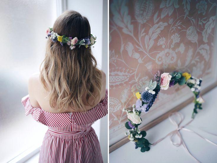 Tuto DIY : la couronne de fleurs fraiches - Zoé Bassetto - blog mode - beauté - lifestyle - Lyon - Blog mode