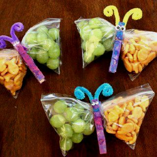 Let the kids paint some clothespins and viola, cool snack!