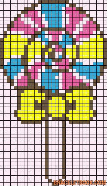 pixel art sucette