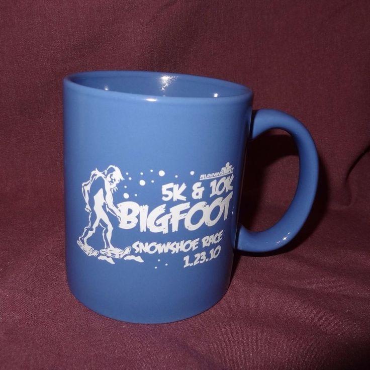 Bigfoot Snowshoe 5K 10K Race Running Fit Coffee Mug 11 oz Cup Ceramic 01.23.10 #Mwear