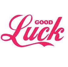 Lots of good luck messages- http://goo.gl/x1WFbA