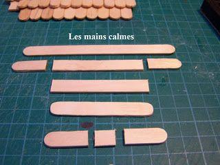 les mains calmes: Comment faire une toiture en tuiles plates