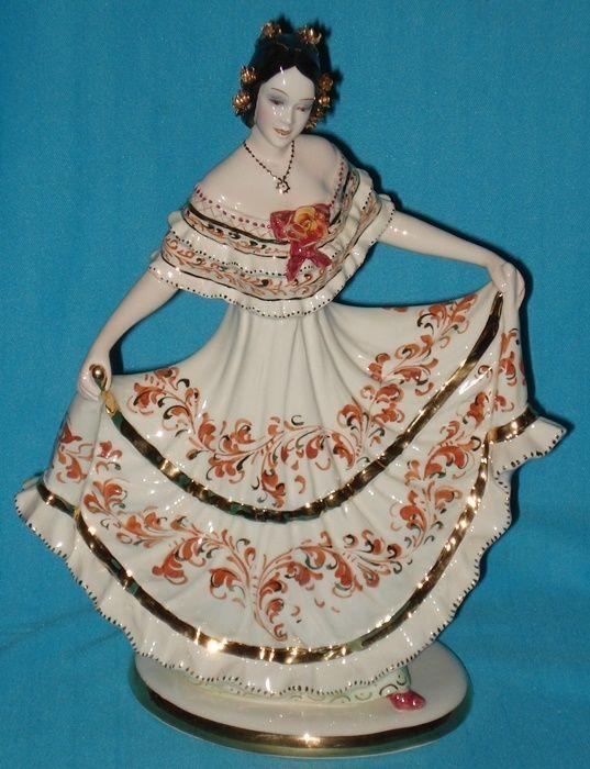 vintage spanish dancer 10 porcelain figurine figurines pinterest spanish. Black Bedroom Furniture Sets. Home Design Ideas